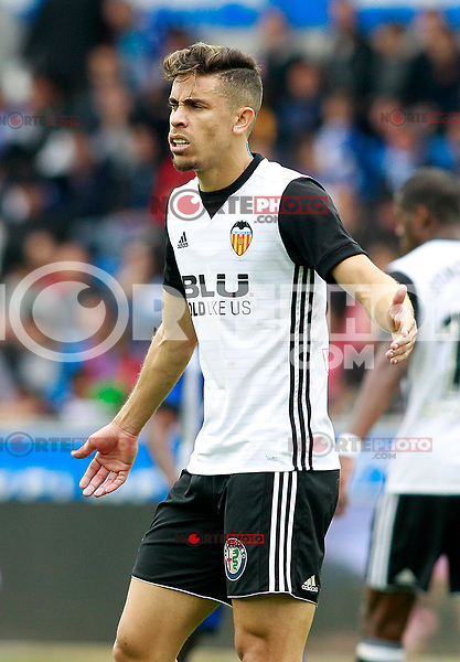 Valencia CF's Gabriel Paulista during La Liga match. October 28,2017. (ALTERPHOTOS/Acero) /NortePhoto.com