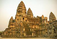 The first enclosing wall at Angkor Wat, Siem Reap province, Cambodia.
