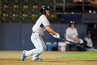 Tennessee Smokies outfielder Jae-Hoon Ha #3 during a game against the Huntsville Stars on April 16, 2013 at Joe W Davis Municipal Stadium in Huntsville, Alabama.  Tennessee defeated Huntsville 4-3.  (Mike Janes/Four Seam Images)