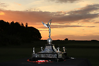 The trophy for the winners of the Men's Home Internationals 2018 at Conwy Golf Club, Conwy, Wales on Friday 14th September 2018.<br /> Picture: Thos Caffrey / Golffile<br /> <br /> All photo usage must carry mandatory copyright credit (&copy; Golffile | Thos Caffrey)