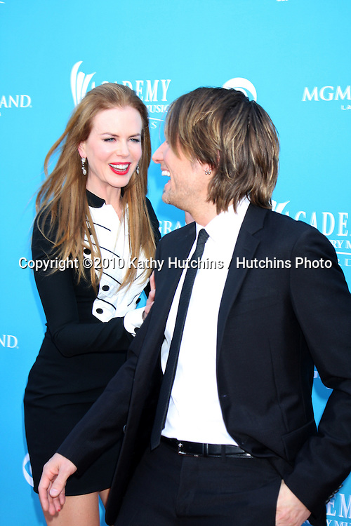 Nicole Kidman & Keith Urban.arrives at the Academy of Country Music Awards 2010.MGM Garden Arena.Las Vegas, NV.April 18, 2010.©2010 Kathy Hutchins / Hutchins Photo....