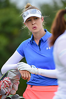 Nelly Korda (USA) looks over her tee shot on 9 during round 2 of  the Volunteers of America Texas Shootout Presented by JTBC, at the Las Colinas Country Club in Irving, Texas, USA. 4/28/2017.<br /> Picture: Golffile | Ken Murray<br /> <br /> <br /> All photo usage must carry mandatory copyright credit (&copy; Golffile | Ken Murray)