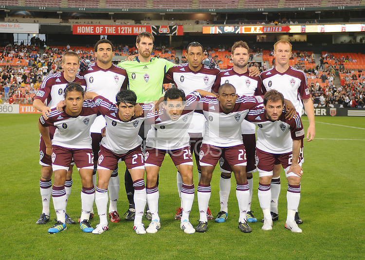 Colorado Rapids Starting Eleven.  DC United tied The Colorado Rapids 1-1, at RFK Stadium, Saturday  May 14, 2011.