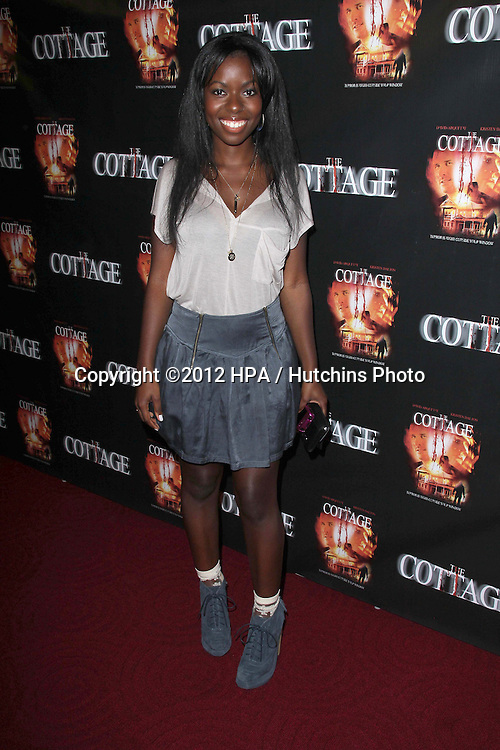 "LOS ANGELES - SEP 28:  Camille Winbush arrives at the ""Cottage"" Premiere at Academy of Motion Pictures Arts and Sciences on September 28, 2012 in Beverly Hills, CA"