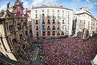 Osasuna's celebration