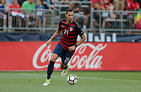 East Hartford, CT - Saturday July 01, 2017: Matt Hedges during an international friendly game between the men's national teams of the United States (USA) and Ghana (GHA) at Pratt & Whitney Stadium.