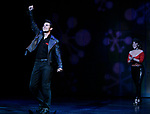 Derek Keeling & Anna Aimee White take bows during American Idol Heartthrob Ace Young makes his Broadway Debut in the Broadway Revival of GREASE at the Brooks Atkinson Theatre in New York City.<br />