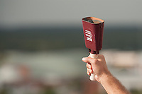 Fans ringing cowbells (photo by Megan Bean / © Mississippi State University)
