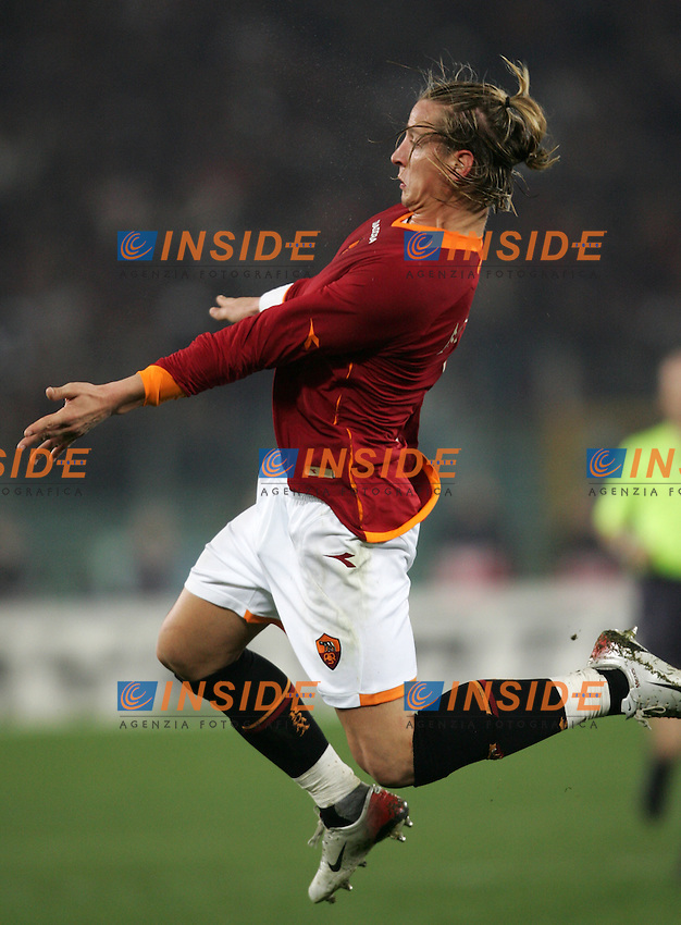Philippe Mexes (Roma)<br /> Champions League 2006-2007<br /> 21 Feb 2007 (First knockout round)<br /> Roma - Olympique Lyonnaise (0-0)<br /> &quot;Olimpico&quot; Stadium - Roma - Italy<br /> Photographer: Andrea Staccioli Inside Roma Olympique Lyon
