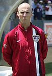 9 June 2007: Bob Bradley. The United States Men's National Team defeated the National Team of Trinidad & Tobago 2-0 at the Home Depot Center in Carson, California in a first round game in the CONCACAF Gold Cup.