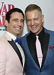 Christopher Gattelli and Stephen Bienskie attends the Broadway Opening Night Performance of 'War Paint' at the Nederlander Theatre on April 6, 2017 in New York City