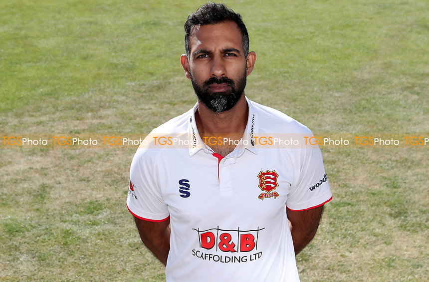 Varun Chopra of Essex poses for a portrait during the Essex CCC Press Day at The Cloudfm County Ground on 30th July 2020