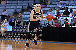 22 November 2016: Charleston Southern's Elyse Kiploks (AUS) (14). The University of North Carolina Tar Heels hosted the Charleston Southern University Buccaneers at Carmichael Arena in Chapel Hill, North Carolina in a 2016-17 NCAA Women's Basketball game. UNC won the game 93-77.