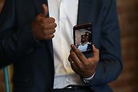 NOVA YORK, EUA, 1.09.2018 - BR DAY-EUA - Toni Garrido durante coletiva de imprensa do  BR Day New York 2018 no WeWork Soho, em Nova York nos Estados Unidos neste sábado, 01. (Foto: Vanessa Carvalho/Brazil Photo Press)