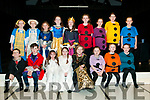 """Ballylongford Drama: The cast of """"Snow White & the Seven Dwarfs"""" pictured in dress rehearsal at Ballylongford Community centre on Saturday last. Front: Ryan Kennelly, Joseph Gilbert, MAIRE mULVIHILL, brid-Anne Stack, Niamh Enright, Eileen Gilbert, Aoibhinn Stack & Kate Mulvihill. Back: Sophie White, Amy Dunlee, Hannah Collins, Maire Spaight, Abbie Collins, Samantha O'Sullivan, Muirne Donoghue, eimear O'Shea & Kate Kennelly."""