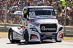 Czech driver Adam Lacko belonging Czech team Buggyra International Racing System during the fist race R1 of the XXX Spain GP Camion of the FIA European Truck Racing Championship 2016 in Madrid. October 01, 2016. (ALTERPHOTOS/Rodrigo Jimenez)