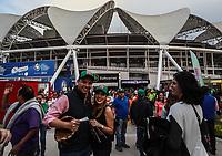 Fachada del Estadio Olimpico Panamericano o Estadio Charros de Jalisco para el Classic World Baseball 2017. <br /> <br /> Aspectos del partido Mexico vs Italia, durante Cl&aacute;sico Mundial de Beisbol en el Estadio de Charros de Jalisco.<br /> Guadalajara Jalisco a 9 Marzo 2017 <br /> Luis Gutierrez/NortePhoto.com