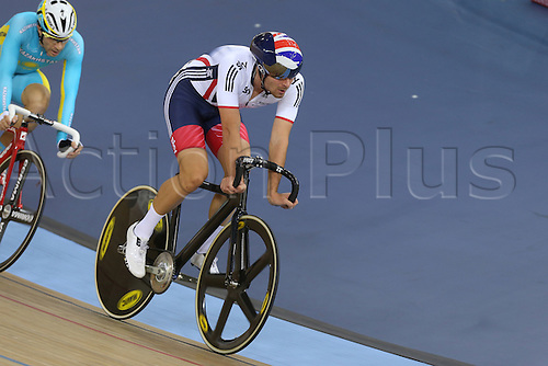 05.03.2016. Lee Valley Velo Centre, London England. UCI Track Cycling World Championships Mens Points Race.   DIBBEN Jonathan (GBR)