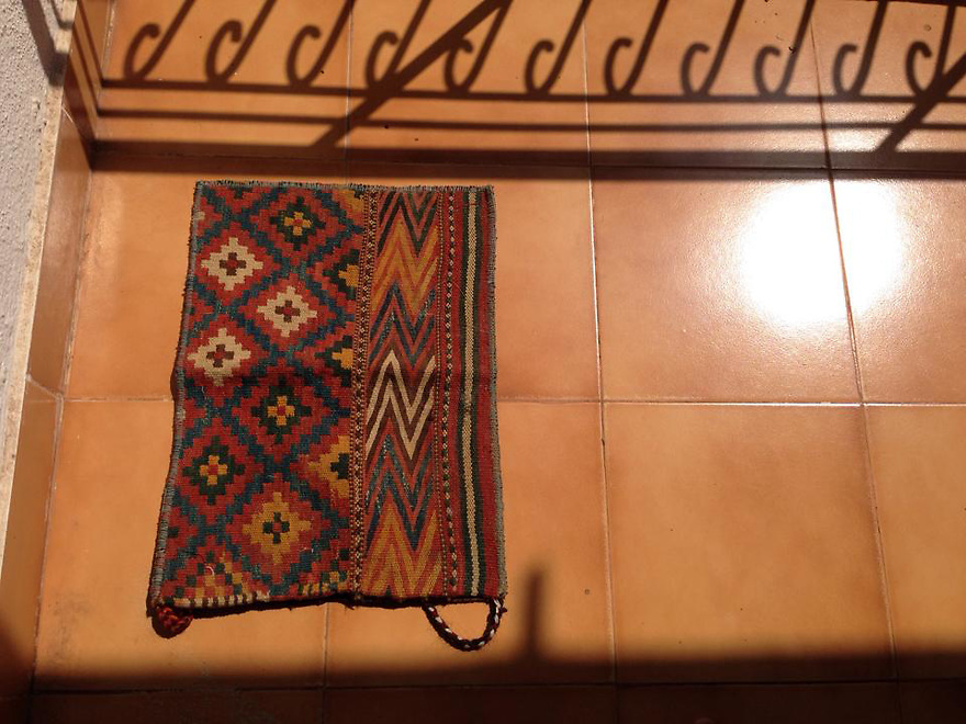 Tatari tribe Saddle bag Northern Afghanistan (some refer to them as Uzbek weaving)