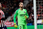 Atletico de Madrid's Jan Oblak during UEFA Champions League match between Atletico de Madrid and AS Monaco at Wanda Metropolitano Stadium in Madrid, Spain. November 28, 2018. (ALTERPHOTOS/A. Perez Meca)