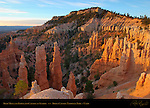 Fairyland Canyon and Boat Mesa at Sunrise, Bryce Canyon National Park, Utah