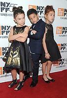 NEW YORK, NY - OCTOBER 01: Brooklyn Prince, Christopher Rivera and Valeria Cotto attend The 55th New York Film Festival - 'The Florida Project' at Alice Tully Hall on October 1, 2017 in New York City. <br /> CAP/MPI/PAL<br /> &copy;PAL/MPI/Capital Pictures