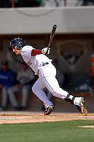 Shortstop Jose Iglesias #10 of the Pawtucket Red Sox during a game versus the Buffalo Bisons on 4-17-11 at McCoy Stadium in Pawtucket, Rhode Island. Photo by Ken Babbitt /Four Seam Images