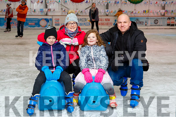 Oshah de Beer Ballybunion celebrated her 7th birthday with her her family Lisa, Savanah and Johan de Beer at the Killarney on Ice Skating ring on Saturday