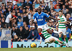 01.09.2019 Rangers v Celtic: Sheyi Ojo and Callum McGregor