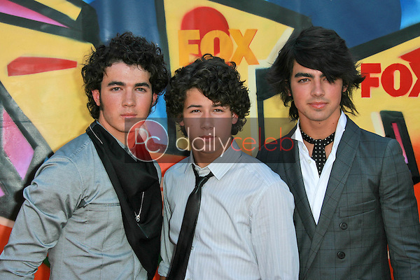 The Jonas Brothers<br />at the 2007 Teen Choice Awards. Gibson Amphitheater, Universal City, CA. 08-26-07<br />Dave Edwards/DailyCeleb.com 818-249-4998