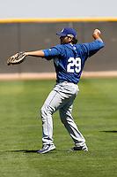 Gabriel Gutierrez - Los Angeles Dodgers - 2009 spring training.Photo by:  Bill Mitchell/Four Seam Images