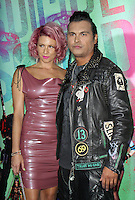 NEW YORK, NY-August 01: Leah Gibson, Adam Beach at Warner Bros. Pictures & DC, Atlas Entertainment  presents the World Premiere of Suicide Squad  at the Beacon Theatre in New York. NY August 01, 2016. Credit:RW/MediaPunch