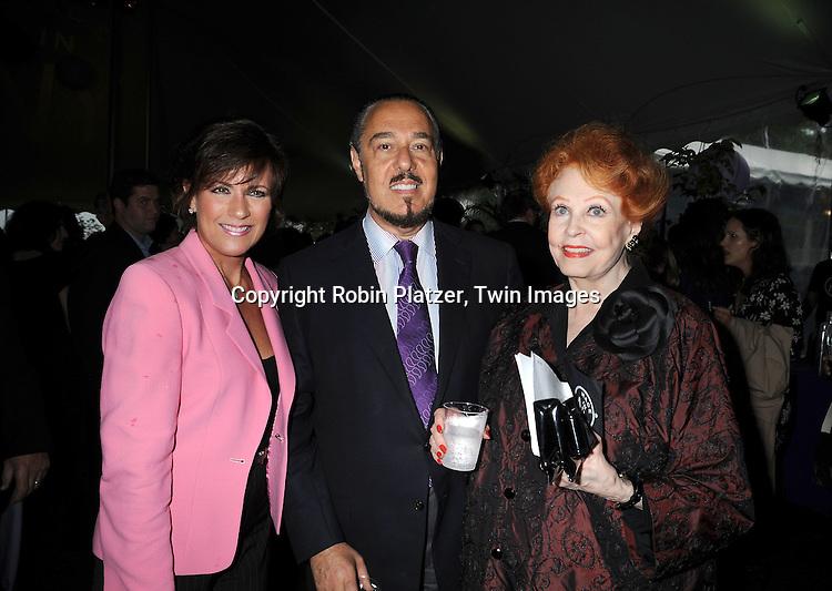 Colleen Zenk Pinter, Marc Rosen and wife Arlene Dahl