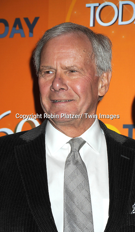 Tom Brokaw  attends The Today Show's 60th Anniversary celebration party on January 12, 2012 at The Edison Ballroom in New York City.