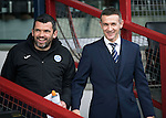 Ross County v St Johnstone&hellip;18.02.17     SPFL    Global Energy Stadium, Dingwall<br />Saints assistant manager Callum Davidson and Ross County manager Jim McIntyre<br />Picture by Graeme Hart.<br />Copyright Perthshire Picture Agency<br />Tel: 01738 623350  Mobile: 07990 594431