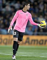 Real Valladolid's Dani Hernandez during La Liga match.November 18,2012. (ALTERPHOTOS/Acero)
