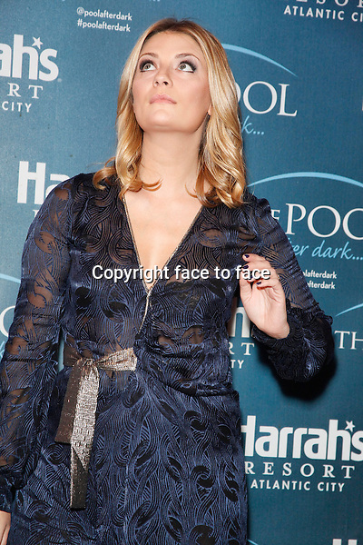 ATLANTIC CITY, NJ - MAY 31 : Mischa Barton pictured hosting at The Pool at Harrahs Casino in Atlantic City, New Jersey on May 31, 2014 <br />
