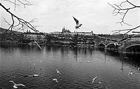 Hradshin in Prague, Cechoslovakia 1988