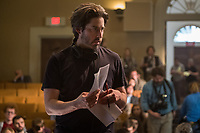 Director Jason Reitman on the set of  <br /> The Front Runner (2018) <br /> *Filmstill - Editorial Use Only*<br /> CAP/RFS<br /> Image supplied by Capital Pictures