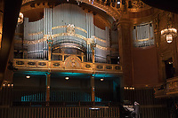 Inauguration concert on the birthday of Franz Liszt after the just finished restoration of the 110 years old Voit-organ in the Grand hall of the Ferenc Liszt Music Academy in Budapest, Hungary on Oct. 22, 2018. ATTILA VOLGYI