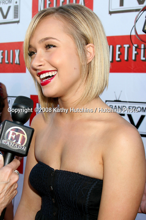 "Hayden Panettiere.""Band From TV"" Netflix Live! on Location Concert.Autry Museum in Griffith Park.Los Angeles, CA.August 9, 2008.©2008 Kathy Hutchins / Hutchins Photo...."