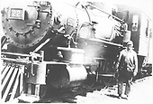 RGS 4-6-0 #22 on the ready track at Rico.<br /> RGS  Rico, CO