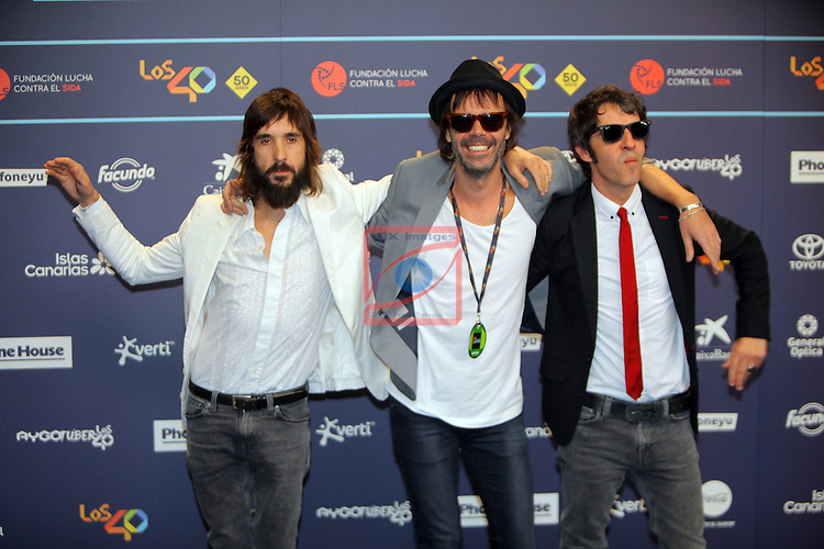 Los 40 MUSIC Awards 2016 - Photocall.<br /> Sidonie.