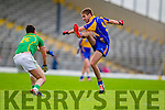 Bryan Sheehan South Kerry in Action against Adrian Spillane Kenmare in the County Senior Football Semi Final at Fitzgerald Stadium Killarney on Sunday.