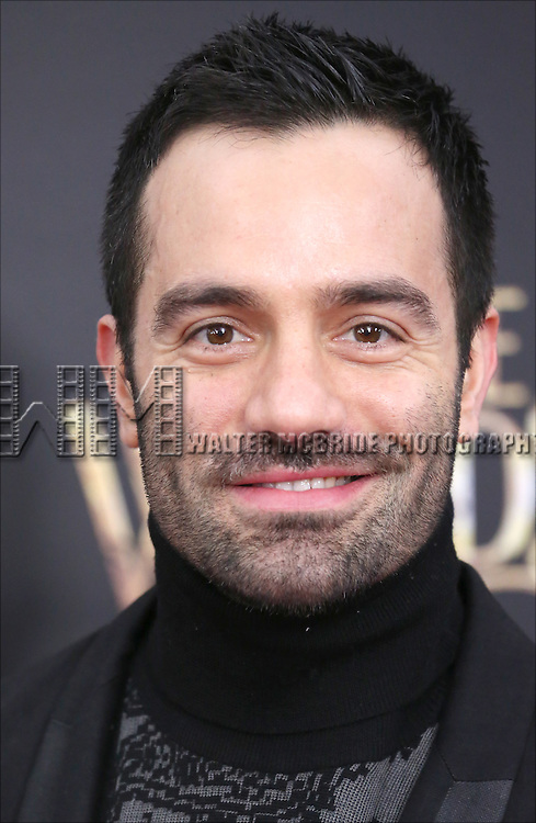 Ramin Karimloo attends the 'Into The Woods' World Premiere at Ziegfeld Theater on December 8, 2014 in New York City.