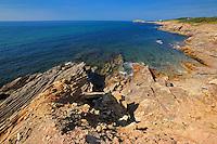 Shoreline along the Gulf of St. Lawrence in Cape Breton<br /> Marjorie Harbour<br /> Nova Scotia<br /> Canada