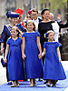 "30.04.2013; Amsterdam: KING WILLEM-ALEXANDER AND QUEEN MAXIMA.Princess Beatrix and Princess Mabel walk together with Princess Alexia (left) Crown Princess Catharina-Amalia, and Princess Ariane (right) to the Nieuwe Kerk, Amsterdam, The Netherlands, for the inauguration of King Willem-Alexander..Mandatory Credit Photos: ©Kluiters/NEWSPIX INTERNATIONAL..**ALL FEES PAYABLE TO: ""NEWSPIX INTERNATIONAL""**..PHOTO CREDIT MANDATORY!!: NEWSPIX INTERNATIONAL(Failure to credit will incur a surcharge of 100% of reproduction fees)..IMMEDIATE CONFIRMATION OF USAGE REQUIRED:.Newspix International, 31 Chinnery Hill, Bishop's Stortford, ENGLAND CM23 3PS.Tel:+441279 324672  ; Fax: +441279656877.Mobile:  0777568 1153.e-mail: info@newspixinternational.co.uk"