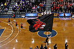 SIOUX FALLS, SD: MARCH 23:  Central Missouri takes the court before their game against Ashland at the 2018 Division II Women's Basketball Championship at the Sanford Pentagon in Sioux Falls, S.D. (Photo by Dick Carlson/Inertia)