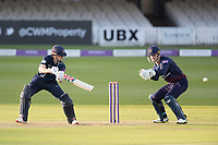 John Simpson of Middlesex CCC deftly plays late to the third man boundary during Middlesex vs Lancashire, Royal London One-Day Cup Cricket at Lord's Cricket Ground on 10th May 2019