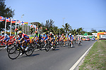 General view, <br /> SEPTEMBER 17, 2016 - Cycling - Road : <br /> Men's Road Race C4-5 <br /> at Pontal <br /> during the Rio 2016 Paralympic Games in Rio de Janeiro, Brazil.<br /> (Photo by AFLO SPORT)